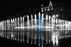 Fountain in Poznan - medical tourism Beauty Poland