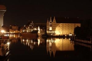 Gdańsk nocą - Turystyka medyczna z Beauty Poland