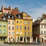 Warszawa - Stare miasto w Warszawie