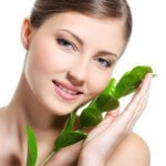 Skin Care Procedure of young women