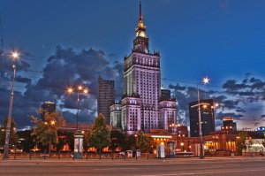 Palace of culture in Warsaw - Medical tourism with Beauty Poland