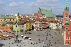 Old Town in Warsaw - Beauty Poland
