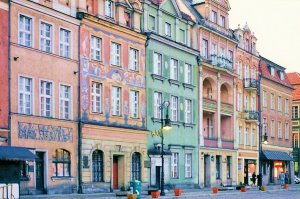 Old town in Poznan - Beauty Poland