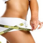 women is showing which size of the hips she would like to have