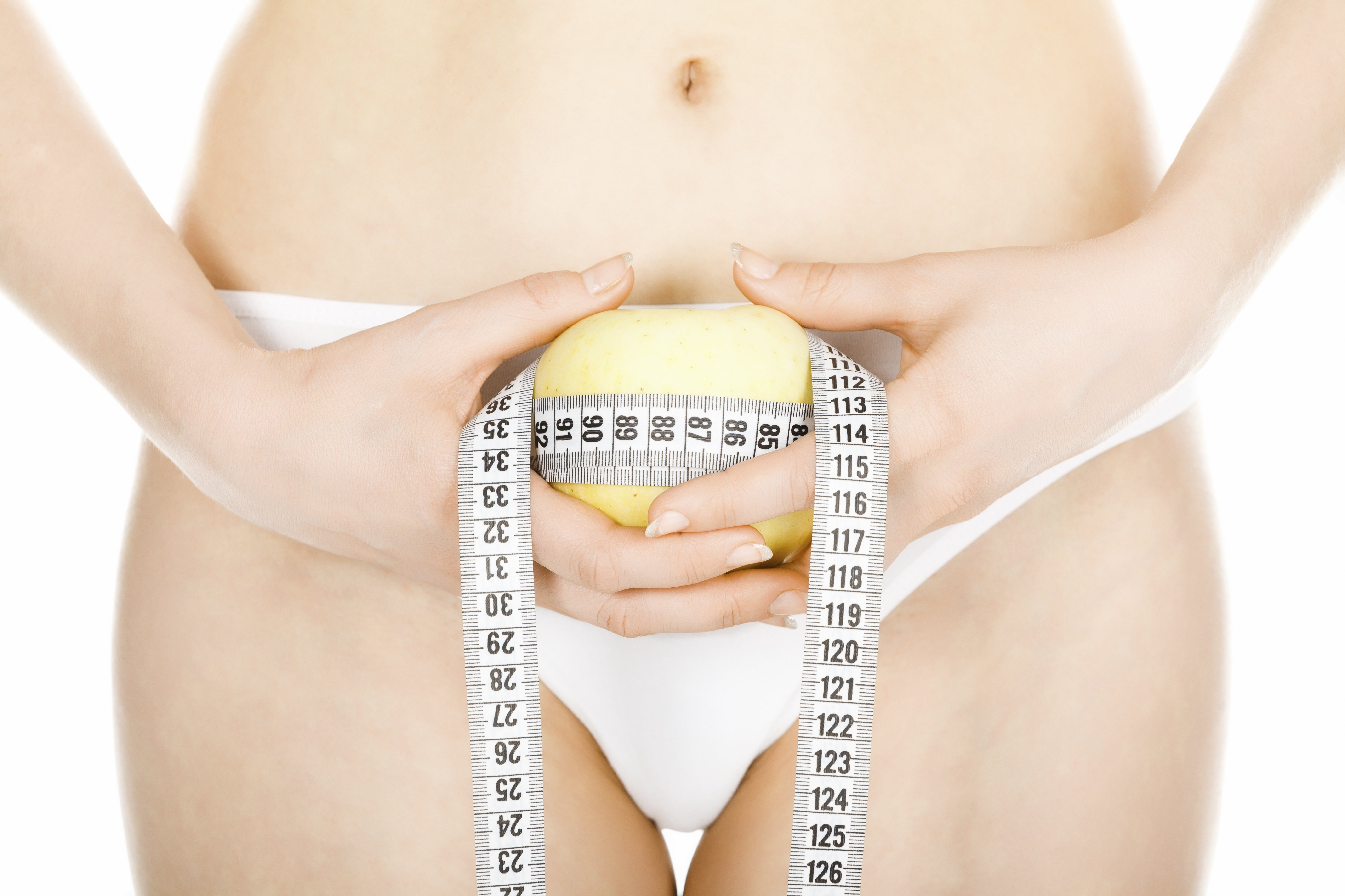 slim woman after gastric balloon